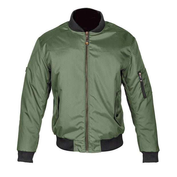 Spada Air Force 1 CE Jacket, Olive Green - Foxxmoto