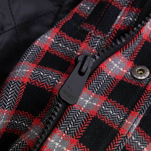 SA1NT / Saint Aramid Lined Flannel Jacket