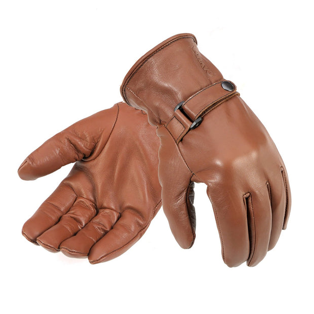 Davida Shorty, Leather Gloves - Foxxmoto