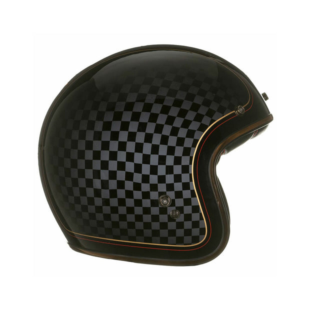 Bell Cruiser Custom 500 SE DLX Helmet, RSD Check It at Foxxmoto