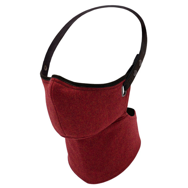 Rare Bird Face Mask, Winter Specification Wool Red - Foxxmoto
