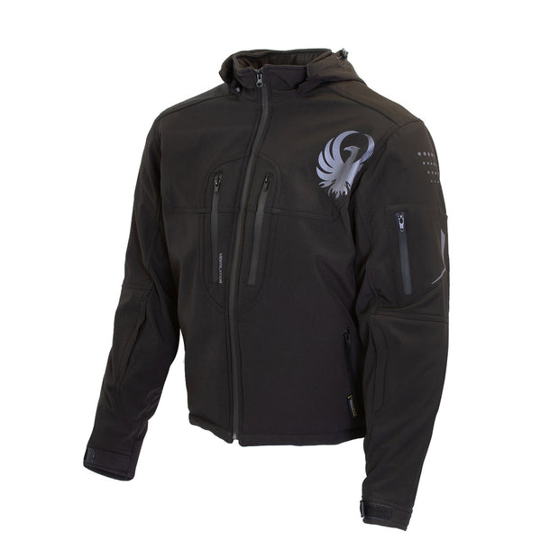 Merlin Dune, Armoured Motorcyclists Softshell Hoody at Foxxmoto