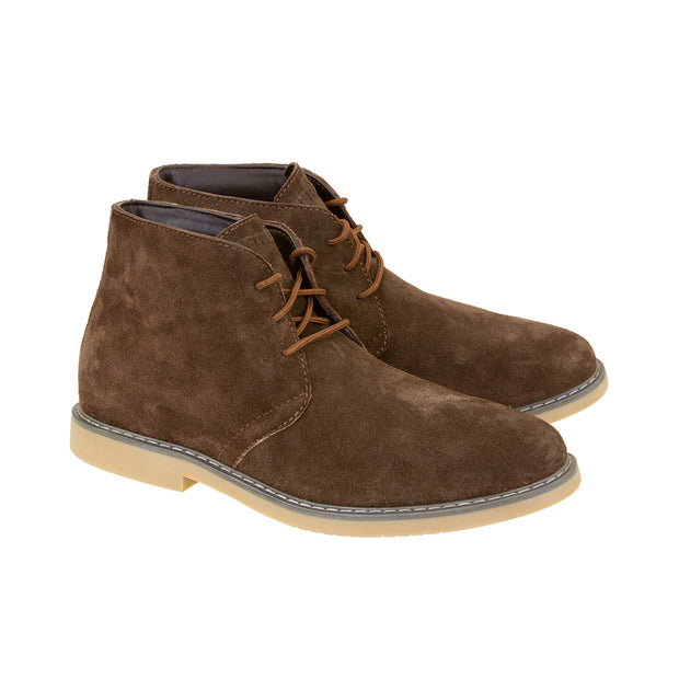 Merlin Gobi, Chukka Style Suede Motorcycle Boots at Foxxmoto