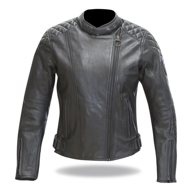 Merlin Hadley, Leather Motorcycle Jacket - Foxxmoto