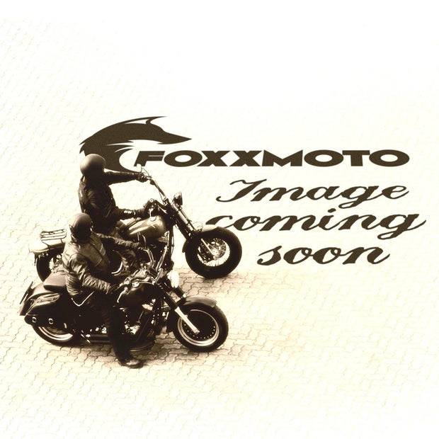Holy Freedom Bullit Unsulto, Leather Motorcycle Gloves Black & Grey Chequer - Foxxmoto