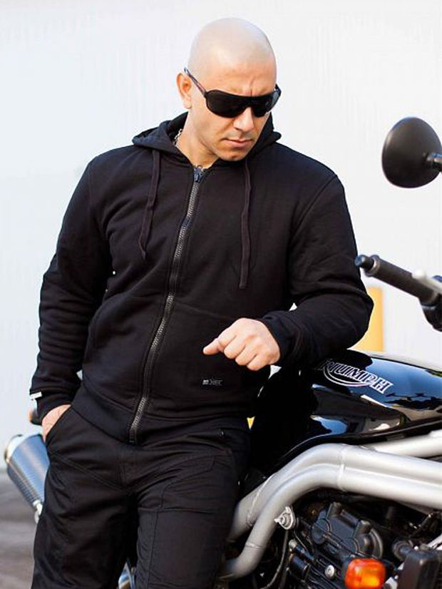 Merlin Hamlin, Armoured Motorcyclists Hoody - Foxxmoto