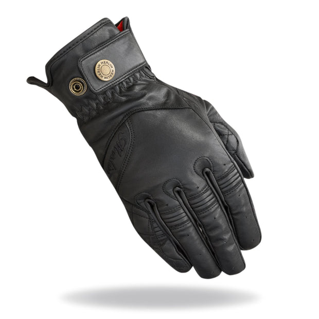 Merlin Levedale, Leather Gloves - Foxxmoto