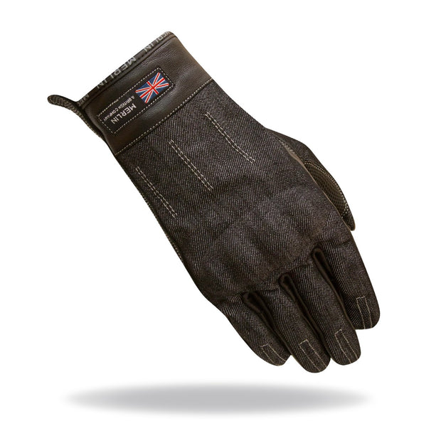 Merlin Icon, Reinforced Gloves - Foxxmoto