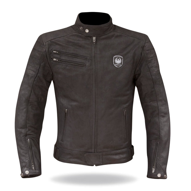 Merlin Alton, Leather Armoured Jacket - Foxxmoto