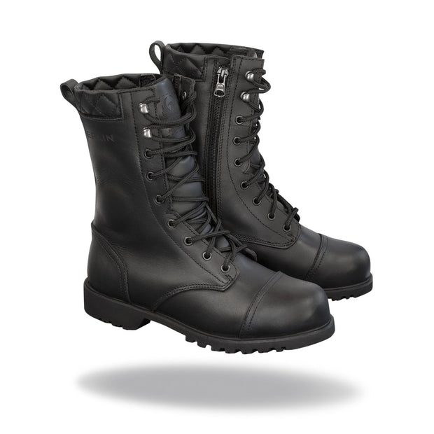 Merlin Combat, G24 Leather Motorcycle Boots - Foxxmoto