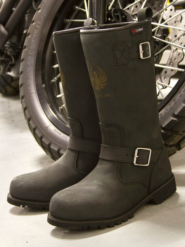 Merlin Legacy, G24 Leather Outlast Motorcycle Boots - Foxxmoto