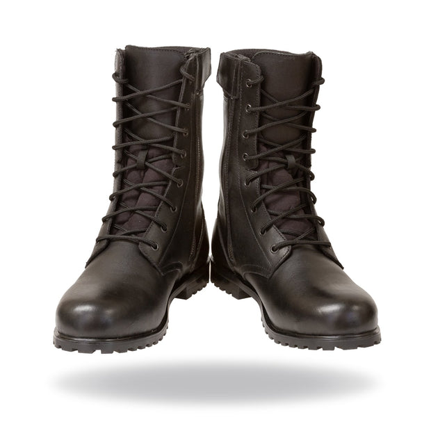 Merlin Myrton, Combat Style G24 Leather Waterproof Motorcycle Boots - Foxxmoto