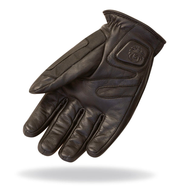 Merlin Ranton, Waxed & Leather Armoured Gloves - Foxxmoto