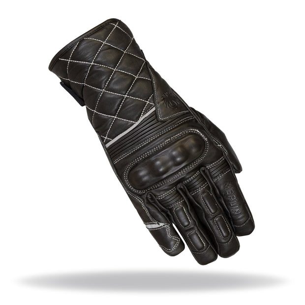 Merlin Catton, Leather Riding Gloves - Foxxmoto