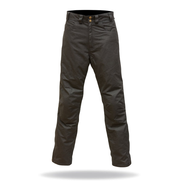 Merlin Hulme, Waxed Armoured Trousers - Foxxmoto