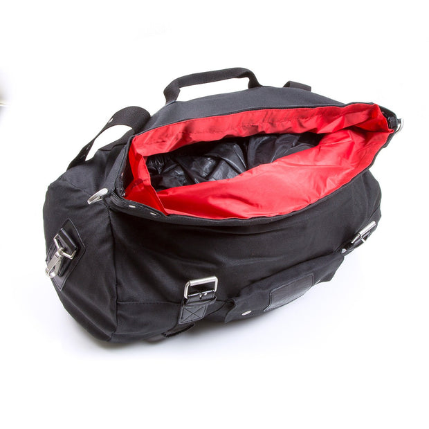 Oxford Heritage Roll Bag, Waxed Cotton 20 Litre - Foxxmoto