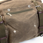 Oxford Heritage Roll Bag, Waxed Cotton 30 Litre - Foxxmoto