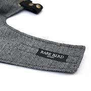 Rare Bird Face Mask, Winter Specification in Herringbone Silver Hue - Foxxmoto