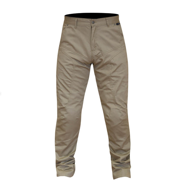 Route One Ontario Chino Kevlar Lined Armoured Trousers - Foxxmoto