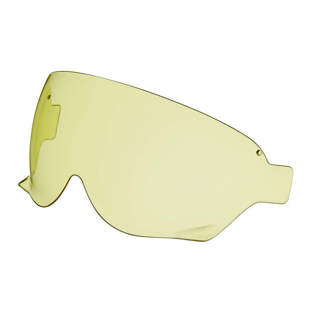 Shoei Ex-Zero / J.O. Helmet, Replacement CJ3 Internal Sun Visor Yellow - Foxxmoto