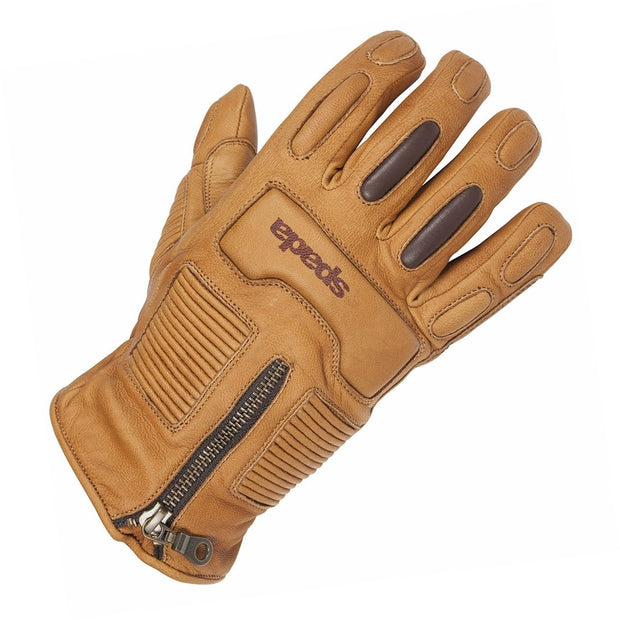Spada Rigger Waterproof Motorcycle Gloves for Men, Sand - Foxxmoto