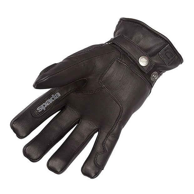 Spada Rigger Waterproof Motorcycle Gloves for Men, Black - Foxxmoto