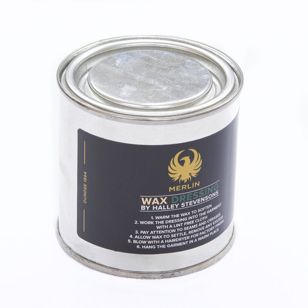 Wax Dressing for Merlin Heritage Jackets & Trousers by Halley Stevensons - Foxxmoto
