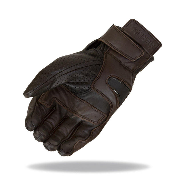 Merlin Thirsk, Leather Motorcycle Riding Gloves - Foxxmoto