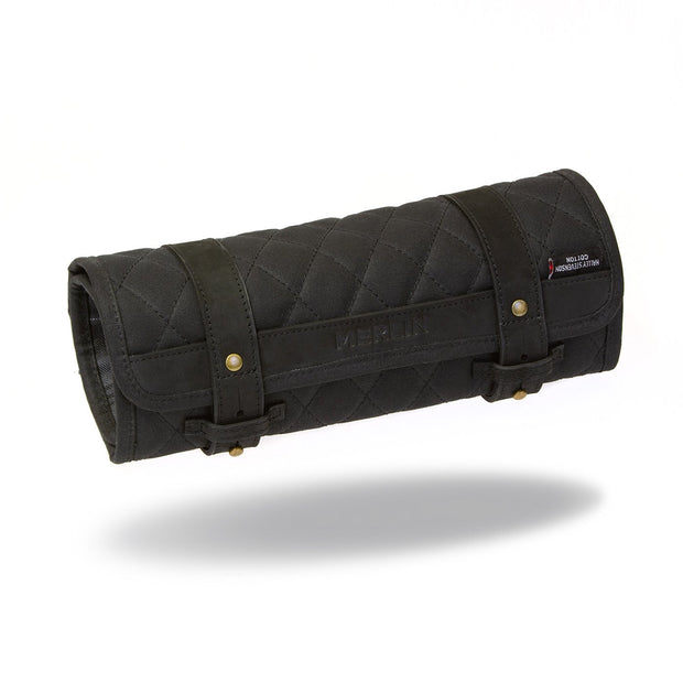 Merlin Chaplow, Waxed Cotton Tool Roll - Foxxmoto