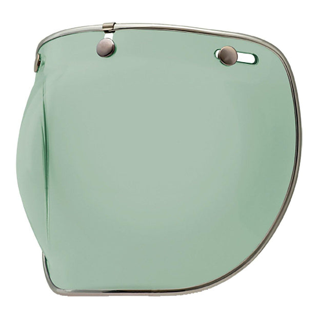 Bell Cruiser Custom 500 Helmet, Snap-On Bubble Visor Deluxe Mint - Foxxmoto