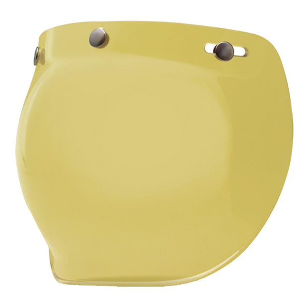 Bell Cruiser Custom 500 Helmet, Snap-On Bubble Visor Yellow - Foxxmoto