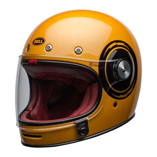Bell Cruiser Bullitt Helmet, Bolt Yellow/Black - Foxxmoto