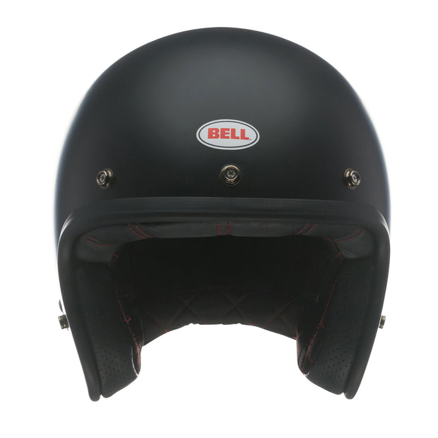 Bell Cruiser Custom 500 DLX Helmet, Solid Matt Black
