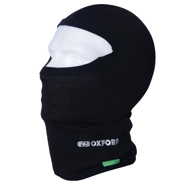 Oxford Cotton Balaclava, Black - Foxxmoto