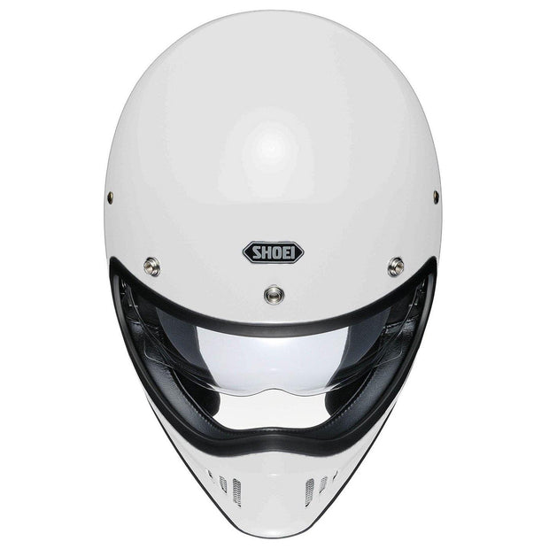 Shoei Ex-Zero Helmet, Off White - Foxxmoto