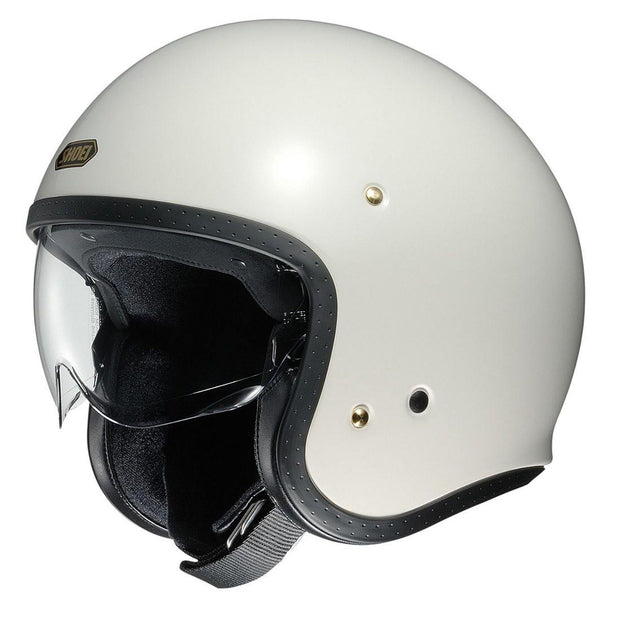 Shoei J.O. Helmet, Off White - Foxxmoto