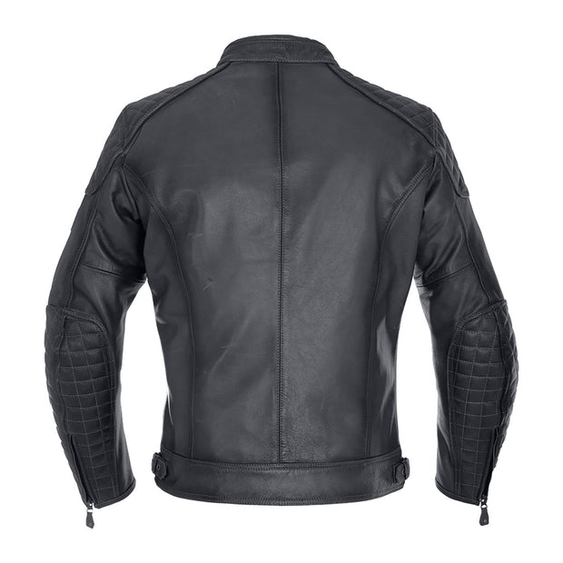 Oxford Beckley Leather Armoured Motorcycle Jacket - Foxxmoto