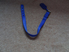 Dog Collar Ancol Blue or Red Nylon Size 5  -  20 inch