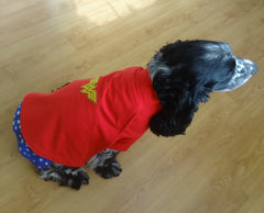 Fancy Dress Dog Costume/Coat Wonderdog