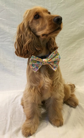 Fancy Dress Dog Outfit Easter Bow Tie - Slide on