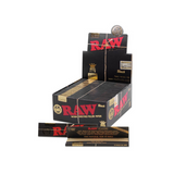 RAW BLACK PAPERS KING SIZE SLIM EXTRA FINE