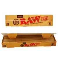 RAW KING SIZE CONES 32 PACK