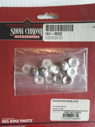 Show Chrome Decorative Caps