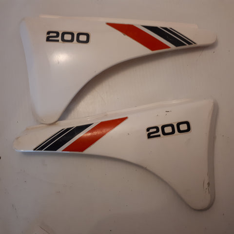 Yamaha XT200 Side Panels