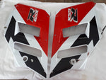 GSX-R 750 SIDE PANELS  RED / WHITE