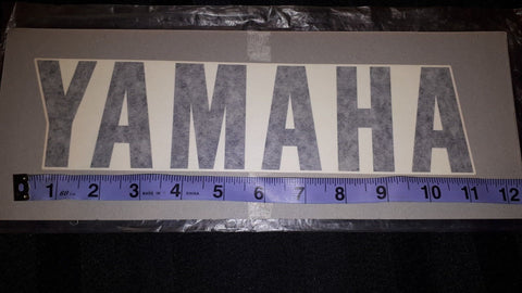 1986 FJ 1200 BELLY PAN YAMAHA DECAL, OEM YAMAHA 1WJ-28315-00