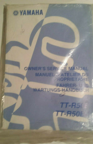 YAMAHA TT-R50 SERVICE MANUAL