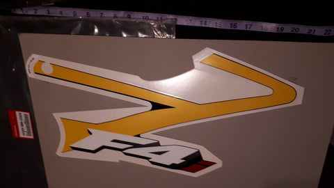 2001 CBR 600 F4I RIGHT LOWER DECAL