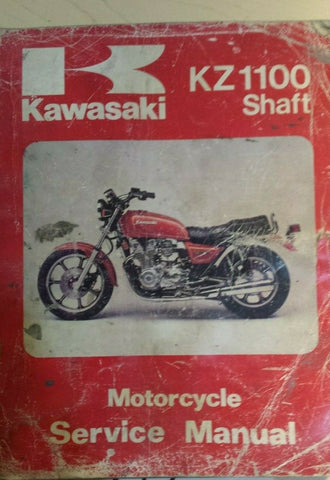 KAWASAKI KZ 1100 SHAFT SHOP MANUAL