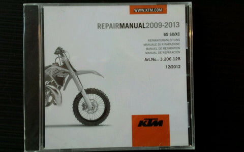 KTM REPAIR MANUAL 65 SX/XC 2009-2013 KTM #3206128